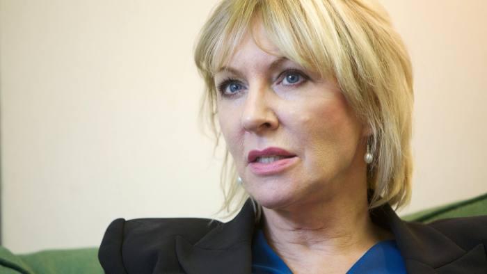 Nadine Dorries Tory MP Portcullis House 9/5/2012