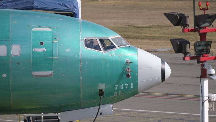 Europeans join in grounding of Boeing 737 Max | Financial Times