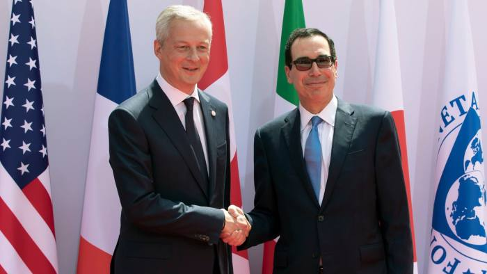 G7 nations struggle to reach compromise on digital tax   Financial Times