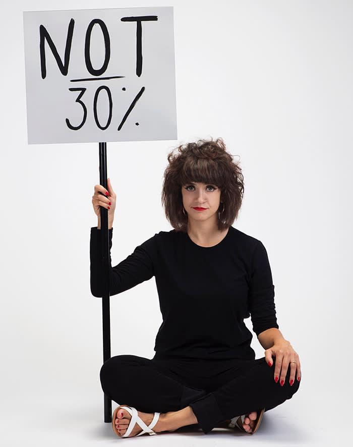Sarah Maple Portrait Colour 'Not 30%'