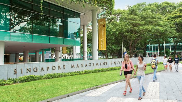 Singapore Management University press image