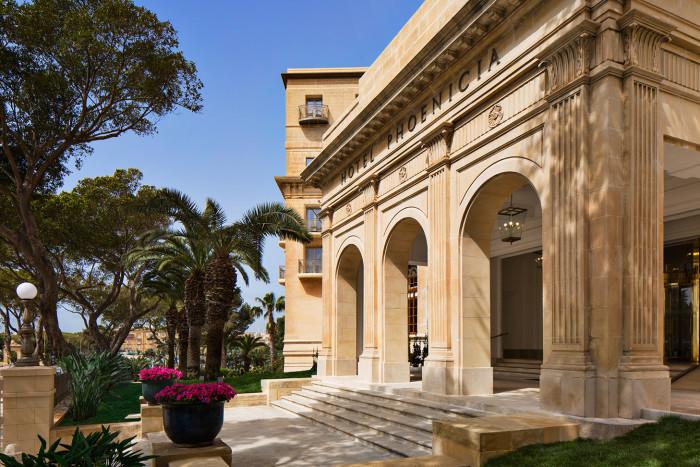 The Phoenicia hotel