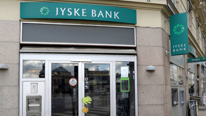 Jyske Bank is offering its customers 10-year euro mortgages at a rate of minus 0.5 per cent