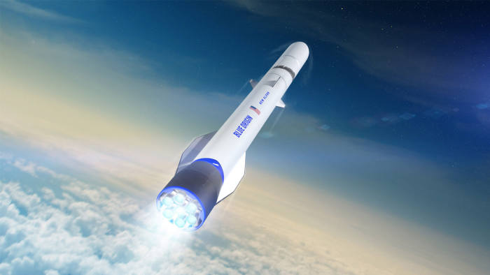 Blue Origin's orbital rocket, New Glenn.