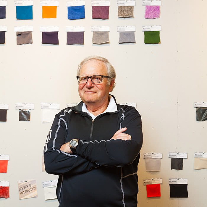 Tim Boyle, President and CEO of Columbia Sportswear, photographed at company headquarters, in Beaverton, Oregon