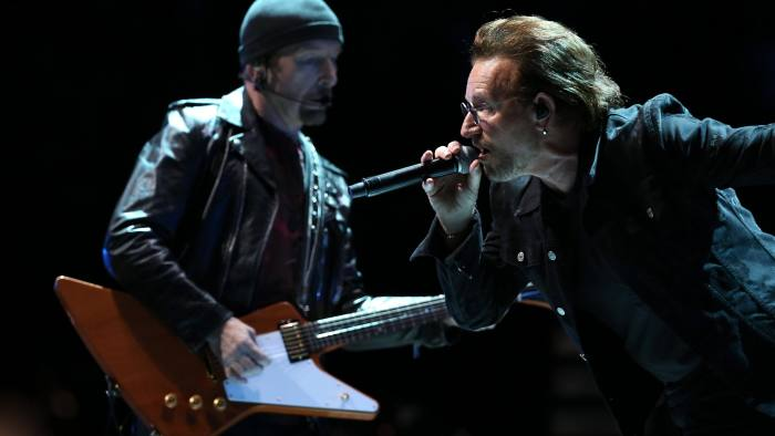 From booing to Brexit sermonising: U2 preach solidarity at
