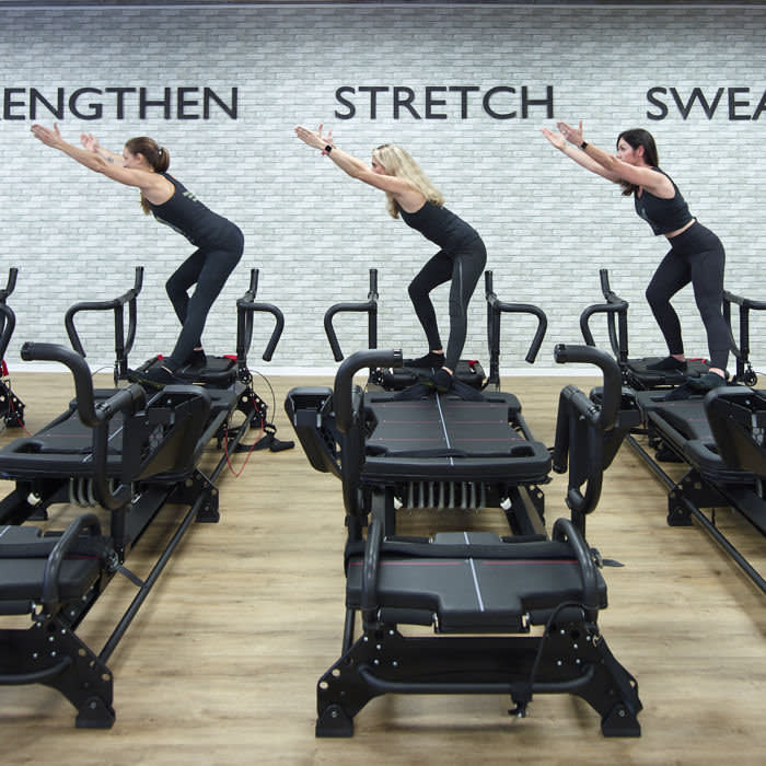 H-Kore promises a high-intensity, low-impact workout that will make you 'strong, stretchy and sweaty'