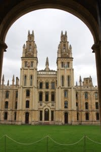 Historic buildings in the Oxford University, Oxford,England. Photo taken on: October 01st, 2009