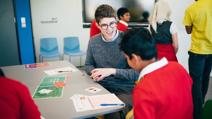 Redington's education programme RedSTART - teaching young people about managing their finances, so they can make informed decisions from the moment they earn their first pay packet. pr image