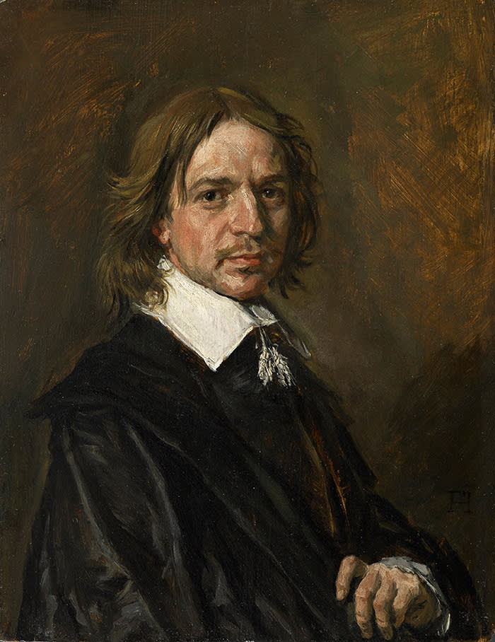 Fake Frans Hals portrait of An Unknown Man - it was reassessed by Sotheby's as a fake