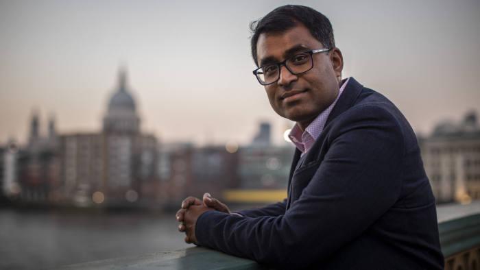 OSB, London 27/2/2018 Danny Sriskandarajah, CEO of Oxfam.
