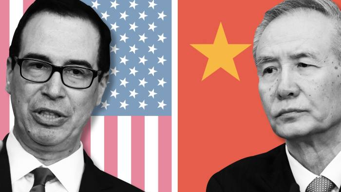 US-China trade tensions cast doubt over Liu He visit   Financial Times