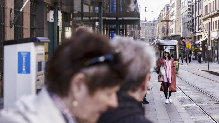 Helsinki, Aleksanterinkatu street