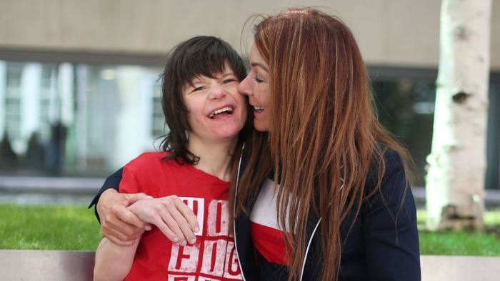 Charlotte Caldwell and her son Billy outside the Home Office in London ahead of a meeting with Minister of State Nick Hurd, after having a supply of cannabis oil used to treat Billy's severe epilepsy confiscated on their return from Canada.