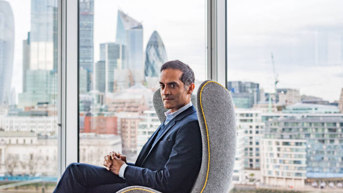 Arun Batra - EY, London. Profiled in Special Report: UKs Leading Management Consultants. Photo credit: Esan Swan, for the FT