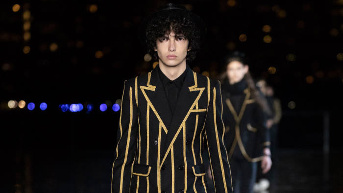 ed491537b6f14 Saint Laurent SS19: the debut menswear show from Anthony Vaccarello ...