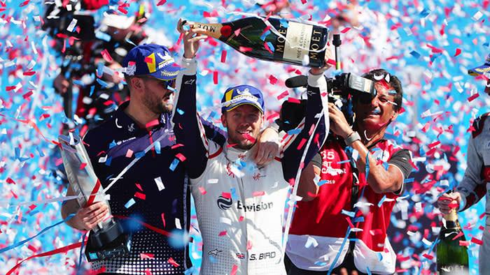 Sam Bird secures 1st place at Santiago Formula E=prix at Parque O'Higgins Circuit on January 26, 2019