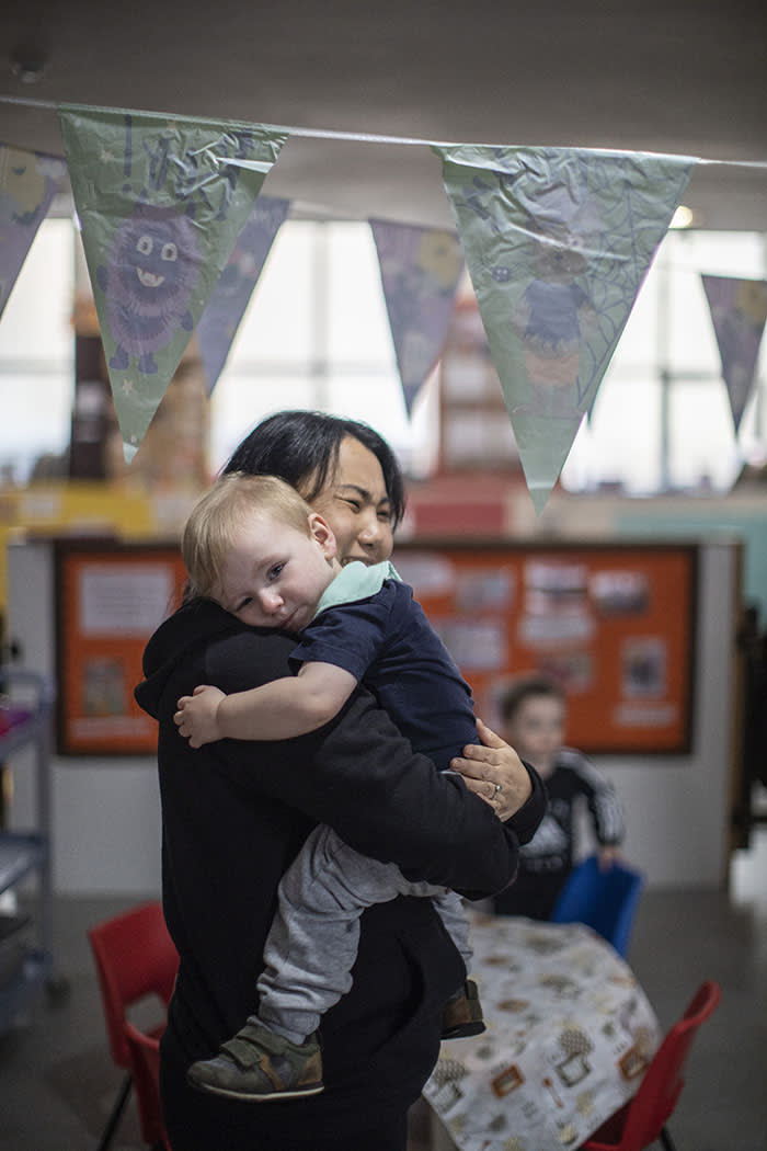 """When nursery owner Sue Wang started her business in April 2016, she included Saturday opening. 'For me, I always think: """"I'm sure there's people working the weekend, I'm sure there's people who need childcare on the weekend""""'"""