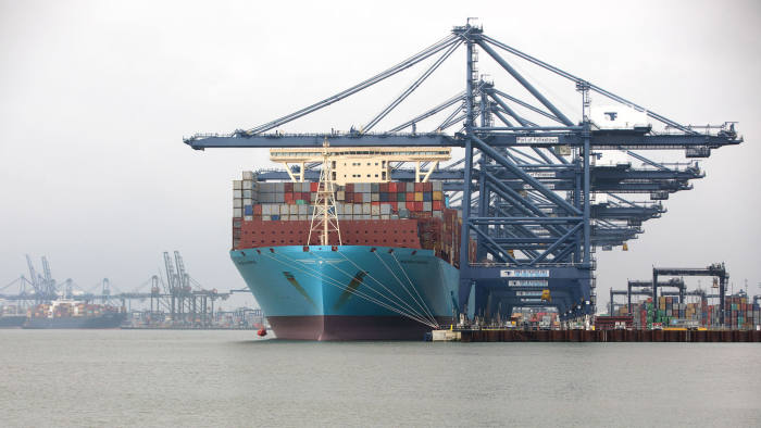 Maersk pledges to cut carbon emissions to zero by 2050 | Financial Times