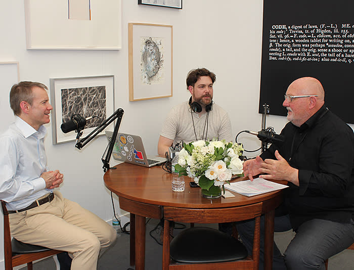 Collect Wisely Podcast interview with Gregory Miller, recorded live at Frieze New York 2018. Courtesy: Sean Kelly, New York