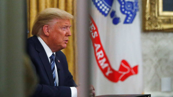 Donald Trump's troubling coronavirus address | Financial Times