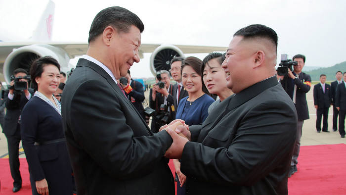 Xi Jinping Vows Active Role In Korea Denuclearisation Talks Financial Times