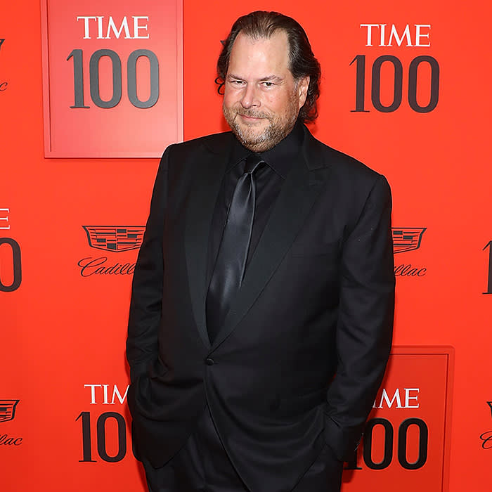 NEW YORK, NY - APRIL 23: Marc Benioff attends the 2019 Time 100 Gala at Frederick P. Rose Hall, Jazz at Lincoln Center on April 23, 2019 in New York City. (Photo by Taylor Hill/FilmMagic)