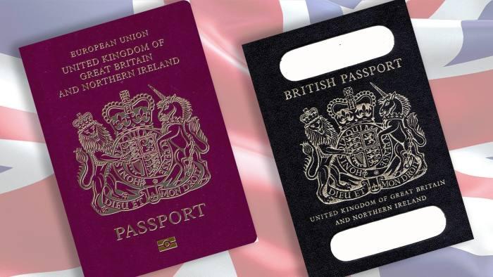 De La Rue Scraps Appeal Over Blue Passport Printing Contract