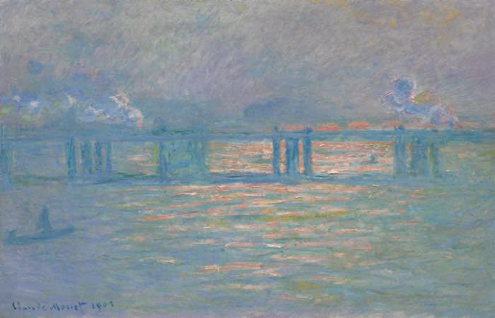 Claude Monet, Charing Cross Bridge (1903) Sotheby's Impressionist & Modern Art sale