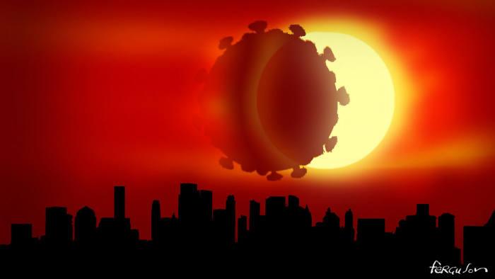Coronavirus eclipse