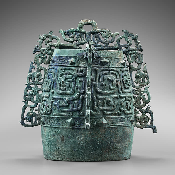 Bronze bell, 'bo', Spring and Autumn period (c770-476BC)