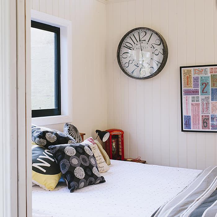 Leanne Kemp at home, near Brisbane. Main bedroom (C) Natalie McComas 2018