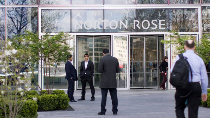 BAD26J Norton Rose offices Southbank London,  Norton Rose Group is a leading international legal practice. Image shot 2009. Exact date unknown.
