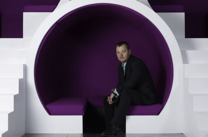 Picture by Jon Super for The Financial Times newspaper. Pic fao Marcus Cotton re story by Andy Bounds. Picture shows Lawrence Jones CEO of UKFast. UK Fast a software business, has a training team ( 4 full-time ex-school STEM teachers and 9 qualified assessors in house). It's accredited by the government to deliver apprentices for other businesses now as well. Digital technology is an area in which apprenticeships have emerged as a key method for plugging the skills gap. Picture at the UK Fast HQ in Manchester 24, May 2018. (Photo/Jon Super 07974 356-333)