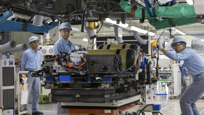 Toyota Maps Out Its Future In The Driverless Era Financial Times - Toyota-map-updates-us