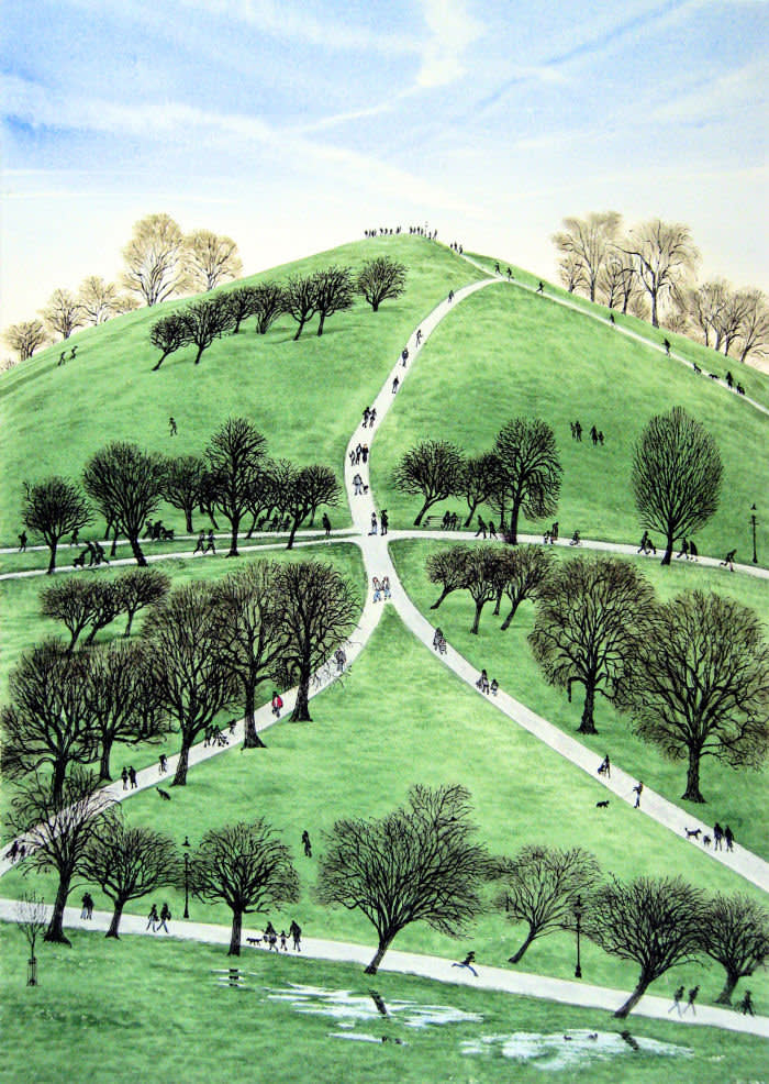 Primrose Hill   David Gentleman 'My City