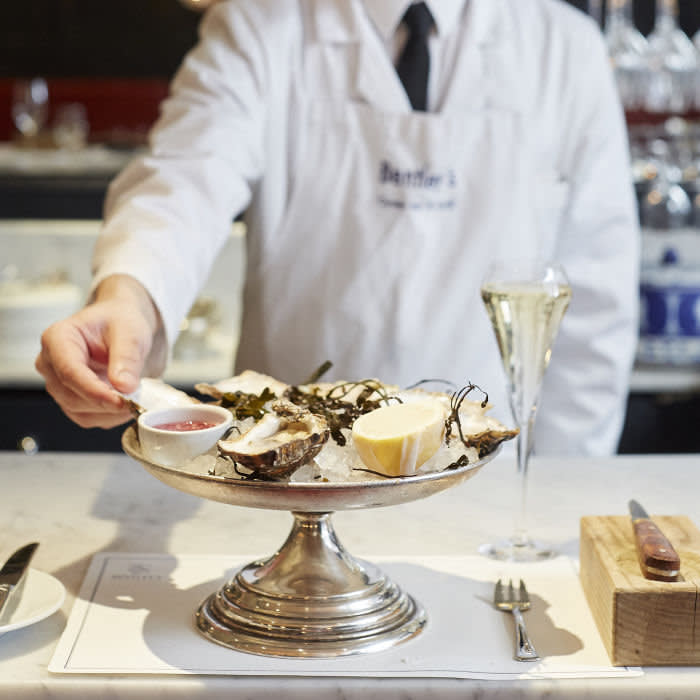 At Bentley's, the approach is to take ingredients straight from the boat and interfere with them as little as possible