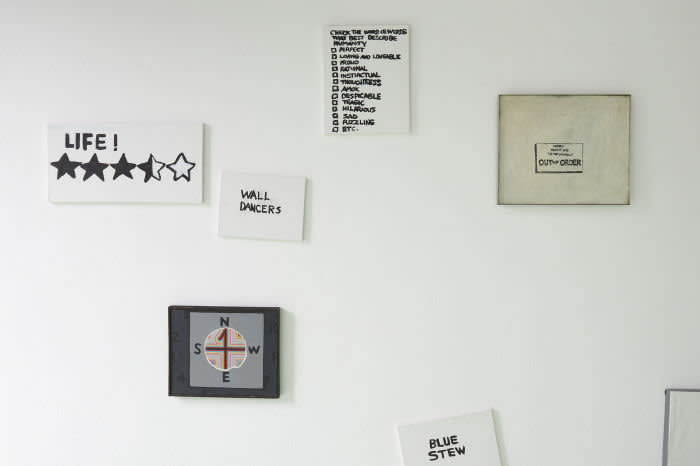 Installation view of Gene Beery's exhibition at Fri Art