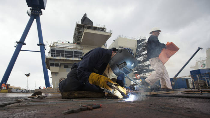 Big shipbuilders pull out of £1bn MoD support-vessel shortlist