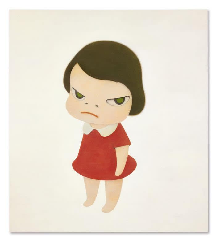 Yoshitomo Nara's 'Knife Behind Back' Smashes Artist's Record at Sotheby's Contemporary Art Sales in Hong Kong.