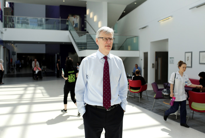 Who - Sir David Dalton, CEO of Salford Royal NHS Foundation Trust Why - 70 years of the NS When - 11th June 2018 Where - Salford Royal NHS Foundation Trust