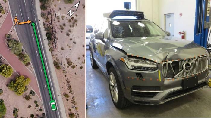 Uber self-driving car in fatal crash did not recognise pedestrian