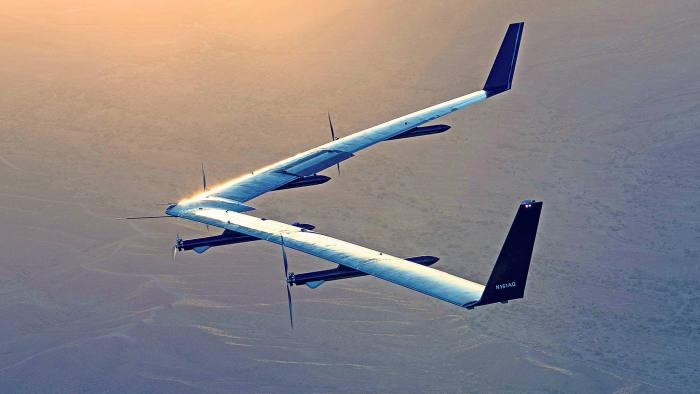 Aquila's second test flight.