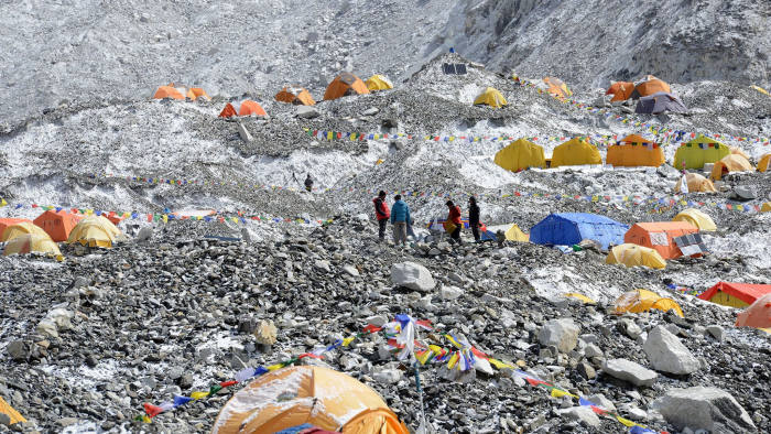 Mt Everest deaths and overcrowding spark anger over
