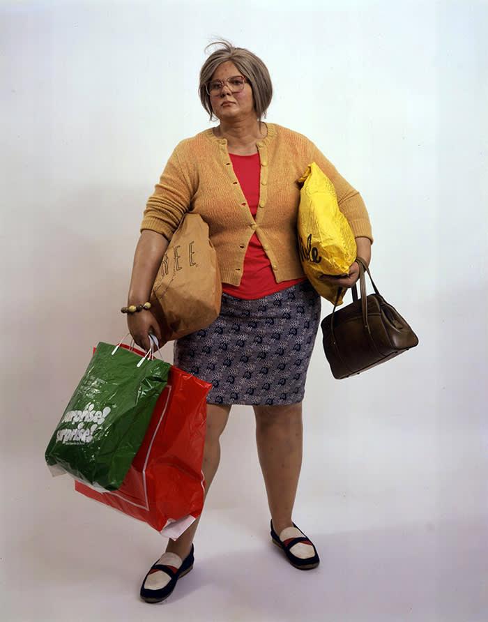 Duane Hanson's 'Young Shopper'