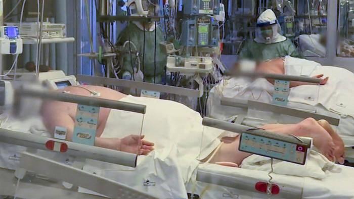 Coronavirus 'tsunami' pushes Italy's hospitals to breaking point ...