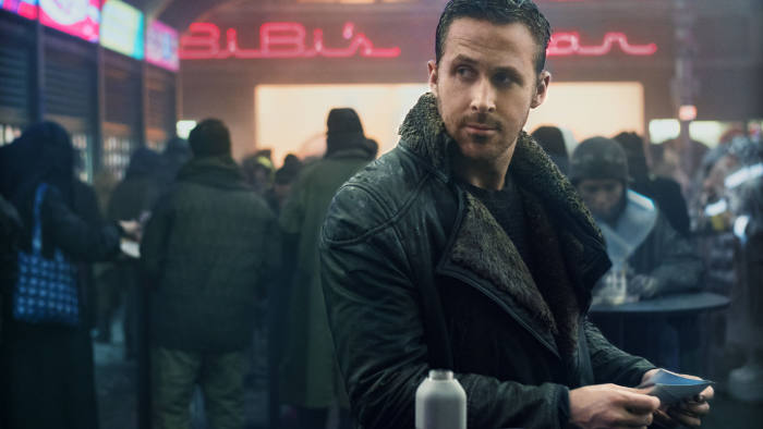 BLADE RUNNER RYAN GOSLING as K in Alcon EntertainmentÕs sci fi thriller BLADE RUNNER 2049 in association with Columbia Pictures, domestic distribution by Warner Bros. Pictures and international distribution by Sony Pictures Releasing International.