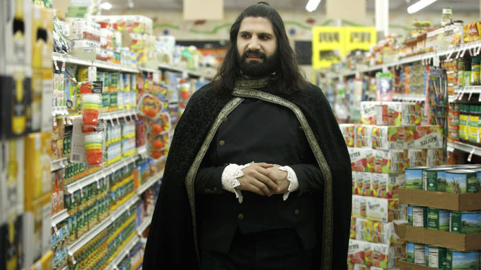 Programme Name: What We Do In The Shadows - TX: n/a - Episode: What We Do In The Shadows - ep 1 (No. 1) - Picture Shows: Nandor (KAYVAN NOVAK) - (C) FX Productions - Photographer: FX