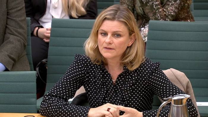 Zelda Perkins, former personal assistant to Harvey Weinsten, speaks to Parliament's Women and Equalities Committee in London, Britain, March 28, 2018. Parliament TV Handout via REUTERS NOT FOR SALE FOR MARKETING OR ADVERTISING CAMPAIGNS THIS IMAGE HAS BEEN SUPPLIED BY A THIRD PARTY
