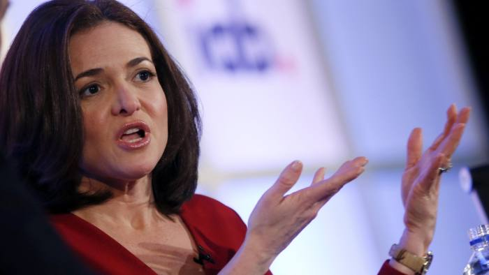 Sheryl Sandberg says Facebook was too slow to respond to